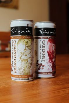 Coffee and wine in a can? Would you try it? #coffee #wine #olanola