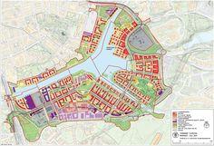Hammarby Sjöstad, Stockholm, Zweden   Groenblauwe netwerken