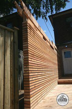 Deck Privacy Wall Decks Walls Construction Kitchener