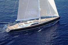 The Nautor Swan 131' sailing yacht for those who can afford it!