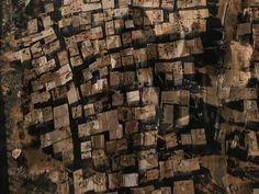 shantytown seen from above, but interesting as a scaled down texture too.