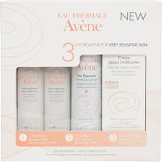 Buy Avene Sensitive Skin Saviour Kit and a full range of skincare and beauty products at Beauty Expert, with Free Delivery. Avene Skin Recovery Cream, Eau Thermale Avene, Sensitive Skin Care, Skin Routine, Facial Skin Care, Moisturiser, Good Skin, Kit, Make Up