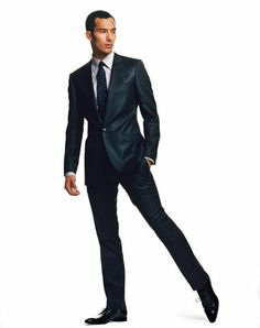 One On Ed Suits Are Good For Tall Thin Men Gq Mens Style Sharp Dressed