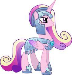 Princess Cadance in Royal Armor by TheShadowStone on deviantART