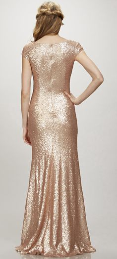 $148.19-Elegant Maxi V-Neck Sequined Bridesmaid Dress with Cap Sleeves. http://www.ucenterdress.com/maxi-cap-sleeve-v-neck-sequin-bridesmaid-dress-pMK_101242.html. Shop for long dresses, designer dresses, casual dresses, occasion dresses, backless dresses, elegant dresses, black tie dresses. We have great 2016 bridesmaid dress for sale. Available in Gold, Yellow, Pink, Lavender Burgundy, Peach…#UCenterDress.com #bridesmaiddress