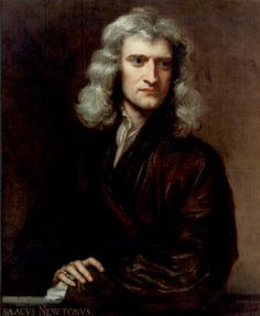 """Newton Isaac: 1642-1727   English mathematician & physicist, one of the greatest scientists of all time.  Laws of gravitation and motion, developed calculus. Major contributions to optics, physics, math and astronomy.     """"The solar system itself could not have been produced by blind chance or fortuitous causes but only by a cause very well skilled in mechanics and geometry."""""""