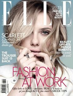 Scarlett Johansson - Elle Magazine Cover [South Africa] (March 2013)