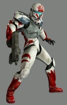 Clone commando RC-1207, AKA Sev, of Delta Squad (20 BBY)