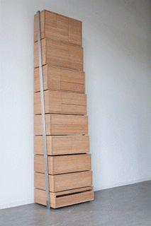 1. plegable estanterías o escaleras.
