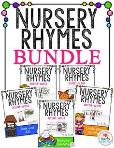 Nursery Rhyme Bundle #1: Everything you need to add nursery rhymes to your…