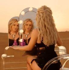 Britney Spears work bitch hair