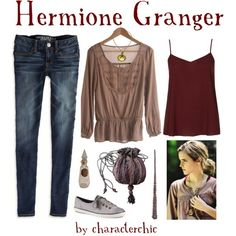 """Hermione Granger"" by characterchic on Polyvore"