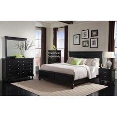 Torreon Rustic Black Wood 5pc Bedroom Set W/King Drawer Box Bed |  Progressive Furniture Collections | Pinterest | Box Bed, Black Wood And  Drawers