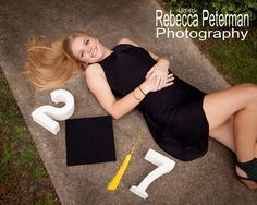 Senior photos Trendy Cap & Gown Pictures, Hot Springs, Arkansas, Rebecca Peterman Photography
