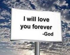 God's love for us.