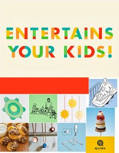 Quirk Books Entertains Your Kids! 20 Crafts, Recipes, Activities and More