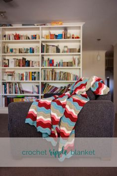 crochet ripple blank