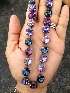 """""""Love Story"""" by Sabika. Swarovski Crystal Necklace, Swarovski Jewelry, Crystal Bracelets, Crystal Jewelry, Swarovski Crystals, Marianna Jewelry, Making Ideas, Jewelry Collection, Glitters"""