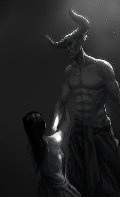 Begging The Demon by assumzaek.deviantart.com on @deviantART  She was begging for the first and the last time in her life.