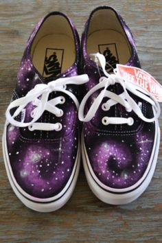 Super cool space vans! Vans off the wall™.