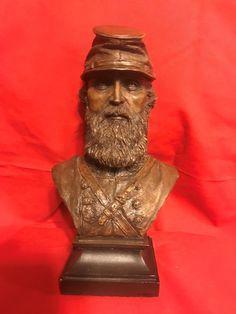 Ron Tunison Stonewall Jackson Civil War Cold Cast Bronze Bust 297/350