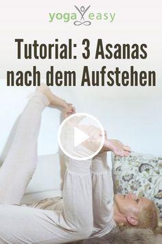 Yoga am Morgen: Diese 3 Yoga-Übungen (Asanas) kannst du die direkt nach dem Aufstehen üben – noch im Bett sogar!