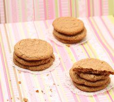 flourless almond butter cookies-3