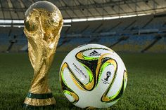 adidas Brazuca Final Rio: Official Match Ball of the 2014 Fifa World Cup Brazil Final Football Score, Football Tournament, National Football Teams, Football Match, Brazil World Cup, World Cup 2014, Fifa World Cup, Ballon D'or, Germany Vs Argentina