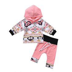 $5.95 - Newborn Kids Toddler Baby Girl Boy Outfits Hoodie Tops T-Shirt+Pants Clothes Set #ebay #Fashion