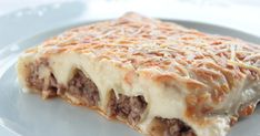 Bechamel, Argentine Recipes, Carne Picada, Ethnic Recipes, Food, Gratin, Grated Cheese, Recipes With Rice, Snacks