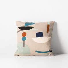 Seaside Cushion - Grey