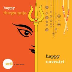 Happy Durga Puja and happy Navratri. Happy Durga Puja and happy Navratri. Happy Durga Puja and happy Navratri. Happy Durga Puja and happy Navratri. Happy Navratri Wishes, Navratri Puja, Happy Durga Puja, Navratri Images, Krishna Painting, Graphic Design Studios, Ganesha, Creative, Festivals