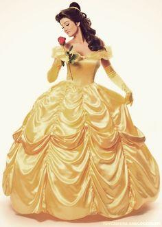 Belle dress.