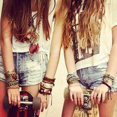 Girls ✌ #boho #bohemian - ☮k☮