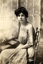 Alice Paul - young women suffragette who led the (2nd generation) drive to get the 19th amendment passed (1885-1977)