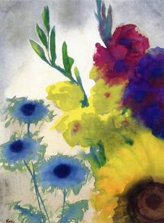 Flowers~Emil Nolde