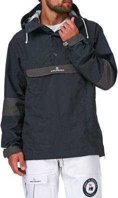 64eb23e5efe200 Amundsen Snow Jackets – Amundsen Skauen – Mens Classic Anorak Snow Jacket –  Faded Navy Brand