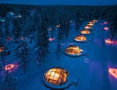 Seriously, Who doesnt want to experience an igloo?