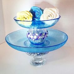 Cake Stand / Cupcake Stand Designed by OctoberLilly