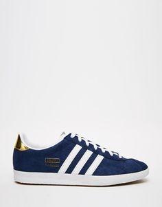 Adidas Originals - Gazelle - Baskets - Marine et blanc