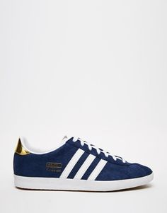 Adidas Originals - Gazelle - Baskets - Marine et blanc