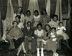 Jesse Owens and his Family