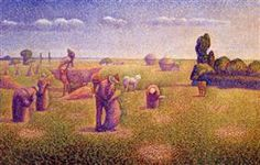 The Harvesters - Charles Angrand