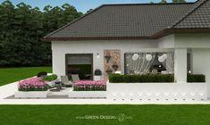 Projekt tarasu z jacuzzi - projekt indywidualny Green Design Jacuzzi, Landscape Architecture, Spa, Outdoor Decor, Green, Design, Home Decor, Projects, Decoration Home