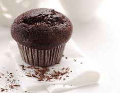 Muffin doppio cioccolato al microonde