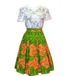Meet Miriam! Simply Cecily's newest box pleated skirt! ~African fashion, Ankara, kitenge, African women dresses, African prints, African men's fashion, Nigerian style, Ghanaian fashion ~DKK