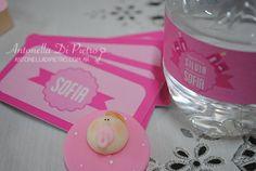 Detalles de un baby shower rosa. It´s a girl. http://antonelladipietro.com.ar/blog/2013/04/babyshower-rosado/