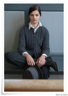 Knitted cardigan - Kim Hargreaves