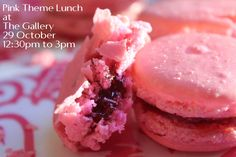 Join us for a delicious Pink theme lunch at The Gallery tomorrow.  Special Pink food dishes will be served in a beautiful set up! Call 043524444 to reserve your bookings.  #BreastCancerAwareness #BurJumanArjaan