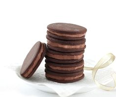Ghirardelli Double Chocolate Sugar Sandwich Cookies http://www.ghirardelli.com/recipes-tips/recipes/double-chocolate-mini-sugar-cookie-sandwiches